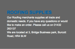 Roofing Merchants Hereford